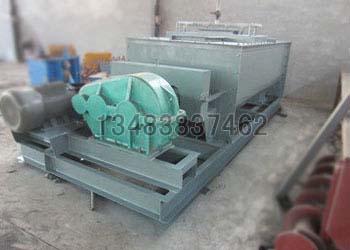 鴻成環保供SJ-100雙軸粉塵加濕機運行穩定可靠的新一代產品